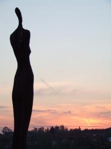Statue bei Saaldorf-Surheim