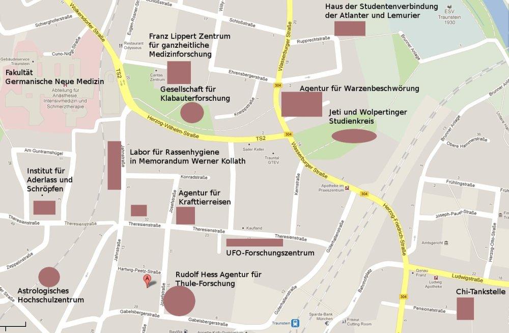 Homöopathie-Esoterik-Hochschule in Traunstein? Bitte nicht! (1/4)