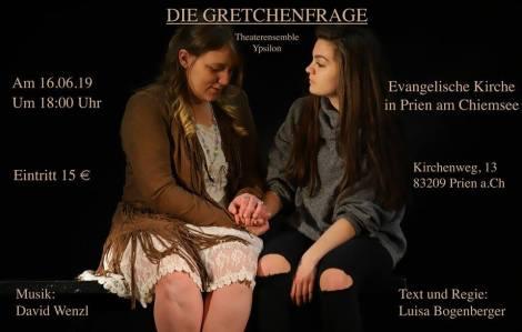 Die Gretchenfrage – Theater inPrien